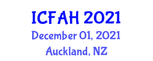 International Conference on Fatimid Architecture and History (ICFAH) December 01, 2021 - Auckland, New Zealand