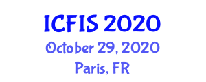International Conference on Feedback and Intelligent Systems (ICFIS) October 29, 2020 - Paris, France