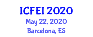 International Conference on Fiber Engineering and Innovation (ICFEI) May 22, 2020 - Barcelona, Spain