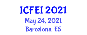 International Conference on Fiber Engineering and Innovation (ICFEI) May 24, 2021 - Barcelona, Spain