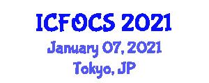 International Conference on Fiber-Optic Communication Systems (ICFOCS) January 07, 2021 - Tokyo, Japan
