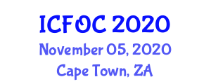 International Conference on Fiber Optic Communications (ICFOC) November 05, 2020 - Cape Town, South Africa
