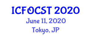 International Conference on Fiber-Optic Communications Systems and Technologies (ICFOCST) June 11, 2020 - Tokyo, Japan