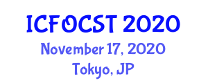 International Conference on Fiber-Optic Communications Systems and Technologies (ICFOCST) November 17, 2020 - Tokyo, Japan
