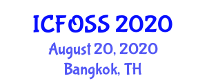 International Conference on Fiber Optic Sensors and Sensing (ICFOSS) August 20, 2020 - Bangkok, Thailand