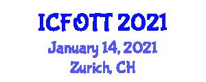 International Conference on Fiber-Optic Telecommunication Technologies (ICFOTT) January 14, 2021 - Zurich, Switzerland