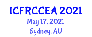 International Conference on Fiber Reinforced Concrete in Civil Engineering Applications (ICFRCCEA) May 17, 2021 - Sydney, Australia