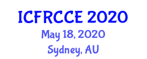 International Conference on Fiber Reinforced Concrete in Civil Engineering (ICFRCCE) May 18, 2020 - Sydney, Australia