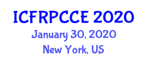 International Conference on Fiber-Reinforced Polymer Composites for Civil Engineering (ICFRPCCE) January 30, 2020 - New York, United States