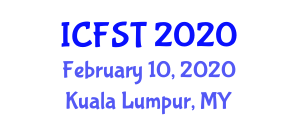 International Conference on Fiber Science and Technology (ICFST) February 10, 2020 - Kuala Lumpur, Malaysia