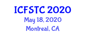 International Conference on Fiber Science and Textile Chemistry (ICFSTC) May 18, 2020 - Montreal, Canada