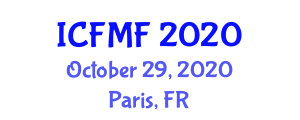International Conference on Fibrous Materials and Fibers (ICFMF) October 29, 2020 - Paris, France