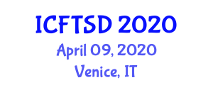 International Conference on Financial Technology and Sustainable Development (ICFTSD) April 09, 2020 - Venice, Italy