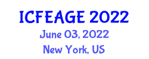 International Conference on Finite Element Analysis in Geotechnical Engineering (ICFEAGE) June 03, 2022 - New York, United States