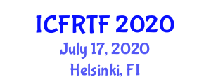 International Conference on Fire Resistant Textiles and Fibers (ICFRTF) July 17, 2020 - Helsinki, Finland