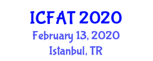 International Conference on Food Allergy and Treatment (ICFAT) February 13, 2020 - Istanbul, Turkey