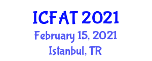 International Conference on Food Allergy and Treatment (ICFAT) February 15, 2021 - Istanbul, Turkey