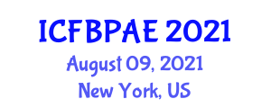 International Conference on Food and Beverage Packaging, Automation Engineering (ICFBPAE) August 09, 2021 - New York, United States