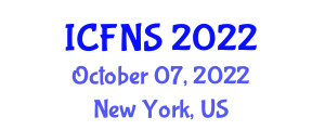 International Conference on Food and Nutrition Safety (ICFNS) October 07, 2022 - New York, United States