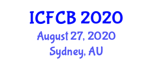 International Conference on Food Chemistry and Biochemistry (ICFCB) August 27, 2020 - Sydney, Australia