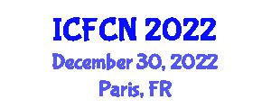 International Conference on Food Chemistry and Nanotechnology (ICFCN) December 30, 2022 - Paris, France