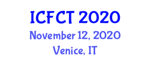 International Conference on Food Chemistry and Toxicology (ICFCT) November 12, 2020 - Venice, Italy