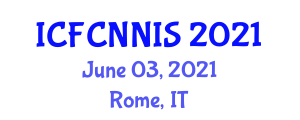 International Conference on Food Chemistry, Nutraceuticals, Nutraceutical Ingredients and Supplements (ICFCNNIS) June 03, 2021 - Rome, Italy
