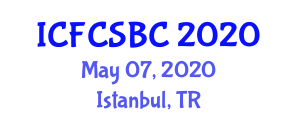 International Conference on Food Components, Supplements and Bioactive Constituent (ICFCSBC) May 07, 2020 - Istanbul, Turkey