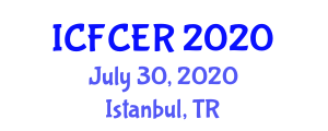 International Conference on Food Contamination and Enzymatic Reactions (ICFCER) July 30, 2020 - Istanbul, Turkey