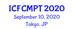 International Conference on Food Contamination, Micronutrients and Packaging Technologies (ICFCMPT) September 10, 2020 - Tokyo, Japan