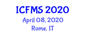 International Conference on Food Manufacturing and Safety (ICFMS) April 08, 2020 - Rome, Italy
