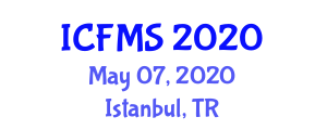 International Conference on Food Manufacturing and Safety (ICFMS) May 07, 2020 - Istanbul, Turkey