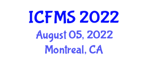 International Conference on Food Manufacturing and Safety (ICFMS) August 05, 2022 - Montreal, Canada