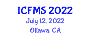 International Conference on Food Manufacturing and Safety (ICFMS) July 12, 2022 - Ottawa, Canada