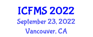 International Conference on Food Manufacturing and Safety (ICFMS) September 23, 2022 - Vancouver, Canada
