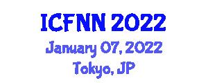 International Conference on Food Nanoscience and Nanotechnology (ICFNN) January 07, 2022 - Tokyo, Japan