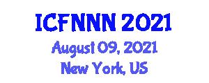 International Conference on Food Nanotechnologies, Nanosafety and Nanotoxicology (ICFNNN) August 09, 2021 - New York, United States