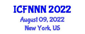 International Conference on Food Nanotechnologies, Nanosafety and Nanotoxicology (ICFNNN) August 09, 2022 - New York, United States