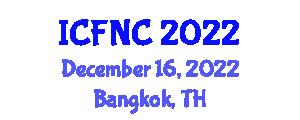 International Conference on Food Nanotechnology and Chemistry (ICFNC) December 16, 2022 - Bangkok, Thailand