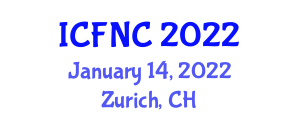 International Conference on Food Nanotechnology and Chemistry (ICFNC) January 14, 2022 - Zurich, Switzerland