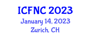International Conference on Food Nanotechnology and Chemistry (ICFNC) January 14, 2023 - Zurich, Switzerland