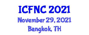 International Conference on Food Nanotechnology and Components (ICFNC) November 29, 2021 - Bangkok, Thailand
