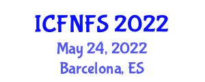 International Conference on Food Nanotechnology and Food Security (ICFNFS) May 24, 2022 - Barcelona, Spain