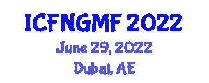 International Conference on Food Nanotechnology and Genetically Modified Foods (ICFNGMF) June 29, 2022 - Dubai, United Arab Emirates