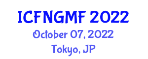 International Conference on Food Nanotechnology and Genetically Modified Foods (ICFNGMF) October 07, 2022 - Tokyo, Japan
