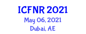 International Conference on Food Nanotechnology and Research (ICFNR) May 06, 2021 - Dubai, United Arab Emirates