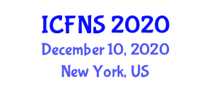 International Conference on Food Nanotechnology and Safety (ICFNS) December 10, 2020 - New York, United States