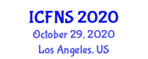 International Conference on Food Nanotechnology and Safety (ICFNS) October 29, 2020 - Los Angeles, United States