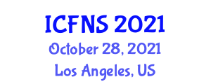 International Conference on Food Nanotechnology and Safety (ICFNS) October 28, 2021 - Los Angeles, United States