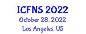 International Conference on Food Nanotechnology and Safety (ICFNS) October 28, 2022 - Los Angeles, United States